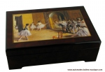 Musical jewelry boxes with printed photo on the lid