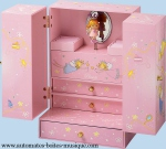 Princess musical jewelry boxes