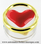 Valentine's day music boxes