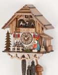 8 day Hekas Black Forest cuckoo clocks