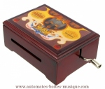 Anastasia music boxes and other manga music boxes : Tapion's theme (Dragon ball Z),  Elfen Lied (Lilium) ...