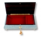 Lutèce Créations musical jewelry box made of wood with traditional 30 note musical mechanism - Item # for this Lutèce Créations musical jewelry box : FL.30.8003