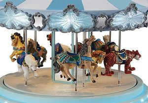 Frosted Carousel.