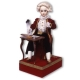 Musical automaton made of porcelain with traditional 36 note spring musical mechanism - Item# for this musical automaton : AU.002