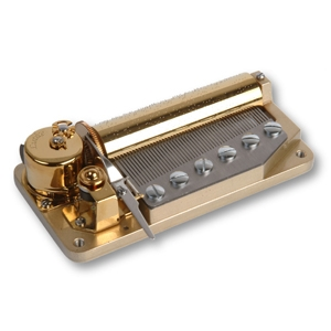 50 note spring musical mechanism for music boxes
