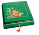 Lutèce Créations musical jewelry box made of wood with traditional 18 note musical mechanism - Item # for this Lutèce Créations musical jewelry box : AN.18.5101