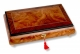 Lutèce Créations musical jewelry box made of wood with traditional 30 note musical mechanism - Item # for this Lutèce Créations musical jewelry box : VE.30.8000