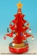 Christmas tree music box with traditional 18 note musical mechanism - Item # for this Christmas tree music box : 48067