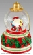 Christmas musical snow globe made by Mr Christmas with traditional 18 note musical mechanism - Item # for this Christmas musical snow globe made by Mr Christmas : G1606-1