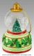 Christmas musical snow globe made by Mr Christmas with traditional 18 note musical mechanism - Item # for this Christmas musical snow globe made by Mr Christmas : G1606-3