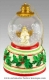 Christmas musical snow globe made by Mr Christmas with traditional 18 note musical mechanism - Item # for this Christmas musical snow globe made by Mr Christmas : G1606-4