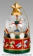 Christmas musical snow globe made by Mr Christmas with traditional 18 note musical mechanism - Item # for this Christmas musical snow globe made by Mr Christmas : M16083