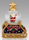 Christmas musical snow globe made by Mr Christmas with traditional 18 note musical mechanism - Item # for this Christmas musical snow globe made by Mr Christmas : M16081