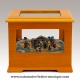 Mr Christmas animated musical nativity scene in a wooden music box with traditional 18 note musical mechanism - Item# for this Mr Christmas music box with animated musical nativity scene : 14638