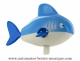 Swimming and mechanical automaton : shark made of plastic with winding key - Item# for this swimming and mechanical automaton : AAN-05