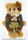 Musical teddy bear with traditional clothes and with traditional 18 note musical mechanism - Item# for this musical teddy bear : 20260