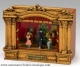 "Mr Christmas miniature musical theatre with 4 animated automatons and traditional 18 note musical mechanism - Item# for this Mr Christmas miniature musical theatre ""Nutcracker"": 69061"