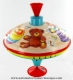 Spinning top without automaton: whistling top made of metal - Item# for this spinning top : 623621