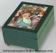 Musical jewelry box with printed photo and traditional 18 note musical mechanism - Item# for this musical jewelry box with printed photo : 635622