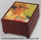 Musical jewelry box with printed photo and traditional 18 note musical mechanism - Item# for this musical jewelry box with printed photo : 635607