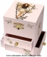 Trousselier musical jewelry box with dancing fairy and traditional 18 note musical mechanism - Item # for this Trousselier musical jewelry box : 13-003