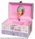 Trousselier musical jewelry box with traditional 18 note musical mechanism - Item # for this Trousselier musical jewelry box : 60-888