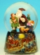 Christmas musical snow globe made of resin with traditional 18 note musical mechanism - Item# for this Christmas musical snow globe : 48038
