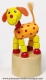 Wooden push up toy : wooden push up dog - Item # for this wooden push up toy : 53959-3