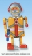 Mechanical vintage Tin Toy robot made of metal (steel) - Item# for this mechanical Tin Toy robot made of metal (steel) : 6014294