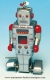 Mechanical vintage Tin Toy robot made of metal (steel) - Item# for this mechanical Tin Toy robot made of metal (steel) : 6019028