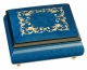 Musical ring box made in France by Lutèce Créations with traditional 18 note musical mechanism - Item # for this Lutèce Créations musical ring box : AR.18.4102