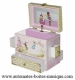 Enchantmints musical jewelry box with secret compartments and traditional 18 note musical mechanism - Item # for this Enchantmints musical jewelry box: 10-06