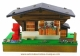 Musical miniature swiss chalet with traditional 18 note musical mechanism - Item # for this musical swiss chalet : 2201600