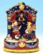 Musical automaton with jesters made of resin with traditional 18 note musical mechanism - Item# for this musical automaton : 14097