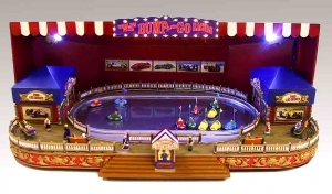 Miniature musical amusement park attraction made by Mr Christmas with electronic musical mechanism - Item # for this miniature musical amusement park attraction made by Mr Christmas : 79891