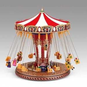 Miniature musical amusement park attraction made by Mr Christmas with electronic musical mechanism - Item # for this miniature musical amusement park attraction made by Mr Christmas : 79841