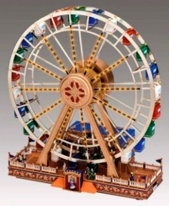 Miniature musical amusement park attraction made by Mr Christmas with electronic musical mechanism - Item # for this miniature musical amusement park attraction made by Mr Christmas : 79826