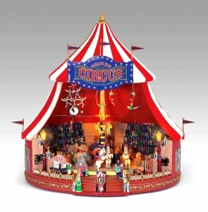 Miniature musical amusement park attraction made by Mr Christmas with electronic musical mechanism - Item # for this miniature musical amusement park attraction made by Mr Christmas : 79881