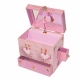 Enchantmints musical jewelry box with secret compartments and traditional 18 note musical mechanism - Item # for this Enchantmints musical jewelry box : 10-18