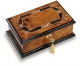 Reuge musical jewelry box made in Switzerland with traditional 22 note musical mechanism - Item # for this Reuge musical jewelry box : RXA.22.2890.000