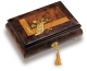 Reuge musical jewelry box made in Switzerland with traditional 22 note musical mechanism - Item # for this Reuge musical jewelry box : RXA.22.2879.000