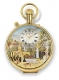Reuge musical pocket watch with two automatons and a traditional 17 note miniature musical mechanism - Item# for this Reuge musical pocket watch : CXH.17.4110.000