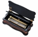 Reuge music box made of wood with traditional swiss 144 note musical mechanism - Item # for this Reuge music box : AXA.14.5583.000