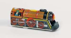 Collectable mechanical Tin Toy made of metal