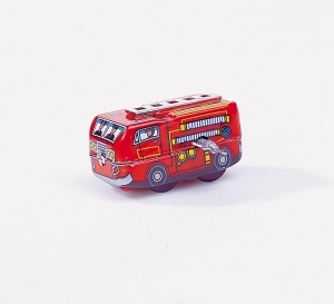 Collectable mechanical Tin Toy made of sheet metal and tin - Item # for this mechanical Tin Toy made of steel : MS 261