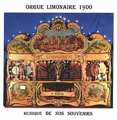 Audio CD of mechanical music instrument : audio CD of Limonaire organ - Item # of this audio CD of mechanical music instrument : CD-01