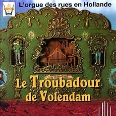Audio CD of mechanical music instrument : audio CD of organs from the streets of Holland - Item # of this audio CD of mechanical music instrument : CD-03