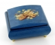 Musical ring box made in France by Lutèce Créations with traditional 18 note musical mechanism - Item # for this Lutèce Créations musical ring box : IM.18.4202