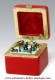 Christmas animated music box made by Mr Christmas with traditional 18 note musical mechanism - Item # for this Christmas animated music box made by Mr Christmas : 69823