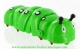 Automaton, mechanical walking animal : automaton caterpillar with winding key made of plastic - Item# for this automaton, mechanical walking animal : CH-VERTF